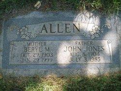 Beryl McGee Allen