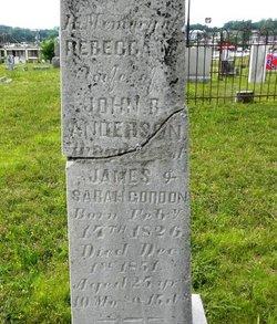 Rebecca N. <i>Gordon</i> Anderson