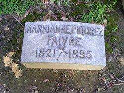 Marianne <i>Piqurez</i> Faivre