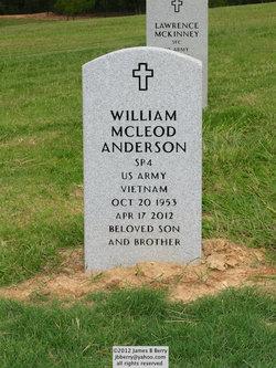 Spec William McLeod Anderson