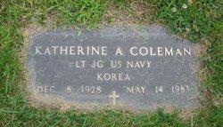 LTJG Katherine A Coleman