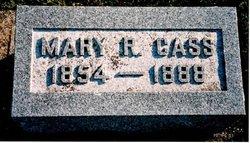 Mary R. <i>Tannahill</i> Cass