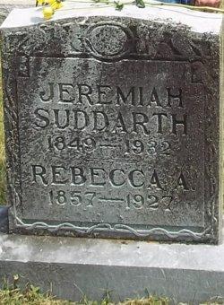Rebecca A <i>Belcher</i> Suddarth