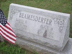 Alice M. <i>Sheetz</i> Beamesderfer