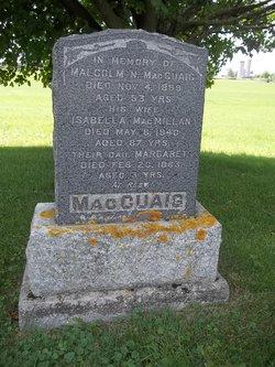 Malcolm N MacCuaig