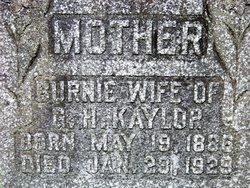 Burnie Kaylor
