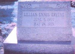 Lillian Irene <i>Ennis</i> Ervine