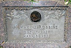 H. Maxine Robbins