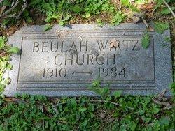 Beulah <i>Wirtz</i> Church