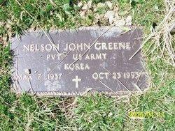 Pvt Nelson John <i>Greene</i> Greene