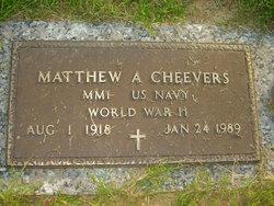 Matthew A Cheevers