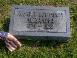 Russell Columbus Alexander