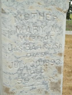 Mary Ann <i>Morgan</i> Barry