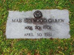 Mae <i>Heywood</i> Carew