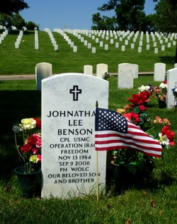 Corp Johnathan Lee Benson
