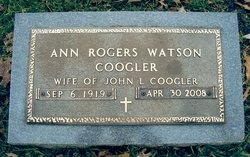 Ann Rogers <i>Watson</i> Coogler