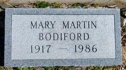 Mary <i>Martin</i> Bodiford