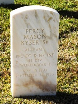 Percy Mason Kyser, Sr