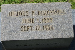 Julious H. Blackwell