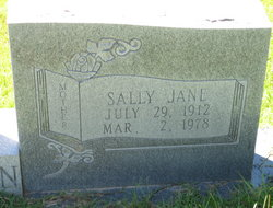Sally Jane <i>Austin</i> Thornton
