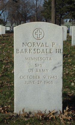 Spec Norval P Barksdale, III