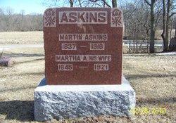 Martha Ann <i>Dowell</i> Askins