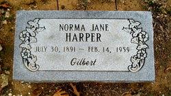 Norma Jane <i>Gilbert</i> Harper