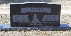 Helen Marie <i>Knocke</i> Davis