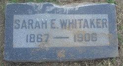 Sarah E. Whitaker