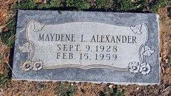 Maydene <i>Franklin</i> Alexander
