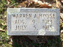 Warren A House