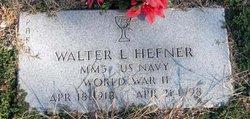 Walter Leslie Hefner
