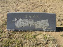 Myrtis Leone <i>Truitt</i> Hare
