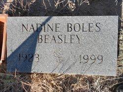Nadine <i>Boles</i> Beasley
