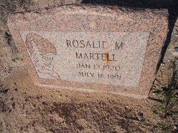 Rosalie M Martell
