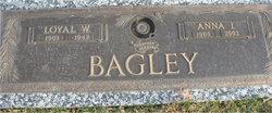 Anna I. <i>Plautz</i> Bagley