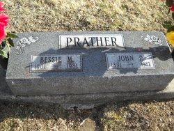 Bessie May <i>Brewer</i> Prather