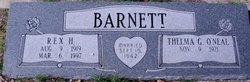 Rex Hinds Barnett