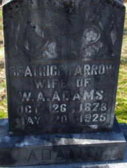Beatrice <i>Farrow</i> Adams