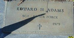 Sgt Edward H. Adams