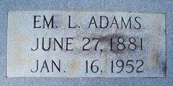 Em. L. Adams