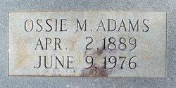 Ossie M. Adams