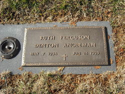 Ruth Ferguson <i>Denton</i> Angleman