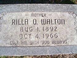 Zerilda Olivia Rilla <i>Johnson</i> Walton