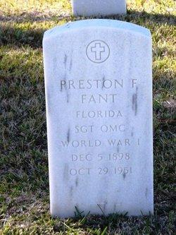 Preston F Fant