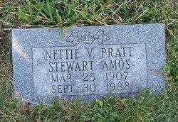 Nettie V. <i>Pratt</i> Amos