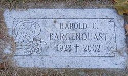 Harold C Whity Bargenquast