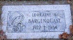 Lorraine L Bargenquast