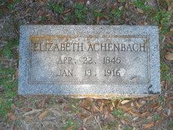 Elizabeth <i>Bernius</i> Achenbach