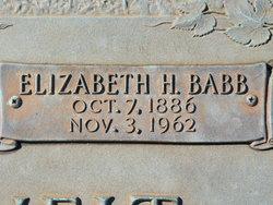 Elizabeth <i>Hammond</i> Babb